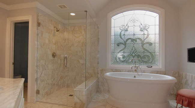 frameless shower doors Nashville