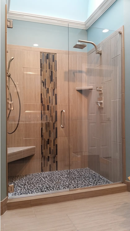 frameless shower doors - Nashville, TN